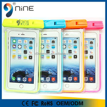 New products on china market transparent mobile waterproof bag