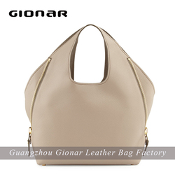 elegant leather hand bag for ladies women tote bag from china bag supplier
