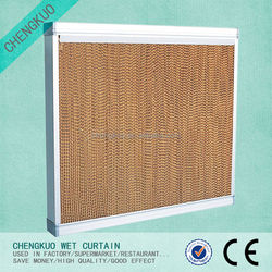 Greenhouse industrial wall mounted industrial wet curtain