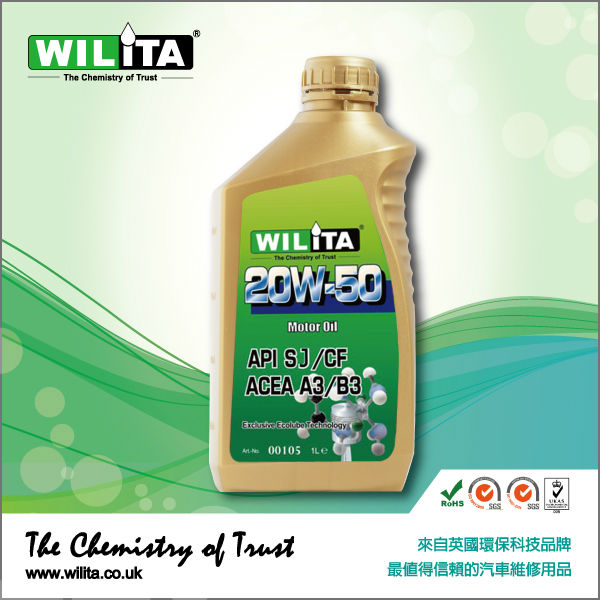 10W/50 Synthetic Motor Oil Engine Oil
