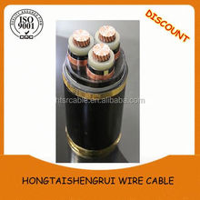 China Power Cable Factory Supplier MV 33kV Copper / Aluminum XLPE Underground Cable