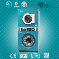 new style double stacked industrial washer and dryer prices