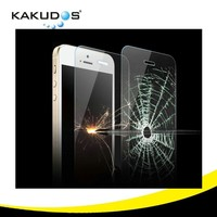 9H 0.33mm anti blue light tempered glass screen protector for iphone 5 / 5S / 5C mobile phone
