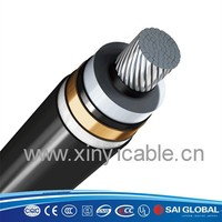 UL listed 8.7KV - 35KV aluminum alloy armored 150mm2 cable wire
