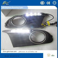 12V hot sale high power high quality daytime running lights for VW Golf 6 (10-12)physics working models/innova accessories