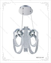 Zhongshan factory offer best price for led crystal 60W hanging pendant light