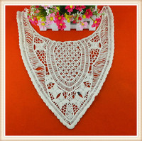 Hot selling off white color cotton hand work neck embroidery designs for ladies suits