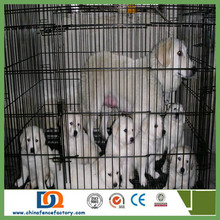 """19"""" 24"""" 30"""" 36"""" 42"""" 48"""" Dog Cage Crate Kennel Pet Cat Metal Folding Portable Puppy Carrier Tray Home"""