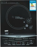 black crystal halogen induction cooker