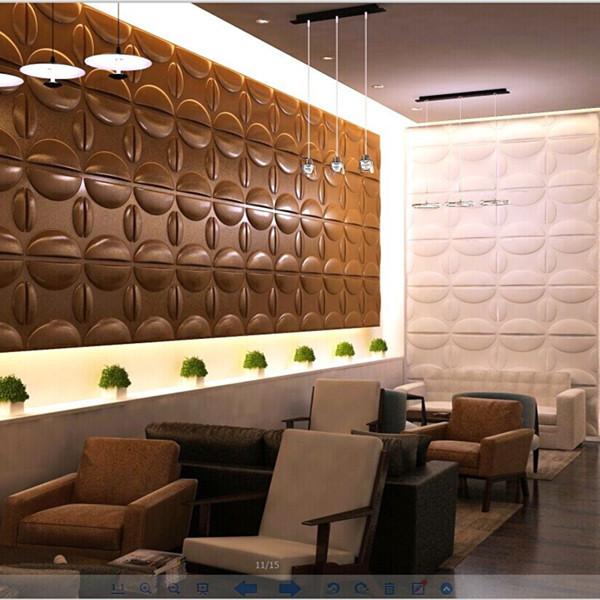 Pvc Wall Panels Interior : Colored simple d pvc wall panels for interior decoration