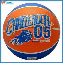 2015 pvc/pu/TPU 10 panels rubber basketball
