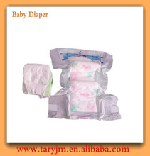 hydrophobic non-woven top sheet and leak guard disposable baby diaper