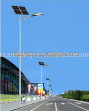 solar power road lamp with single arm with 5 years warranty