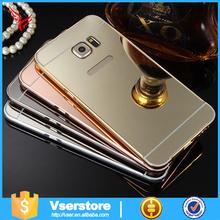 Wholesale price fancy luxury fancy aluminum mirror case for samsung s5 cover case