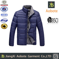 2015 Hot Sell Durable Outdoor Man OEM Short Winter Puffer Jacket