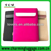 new style 8-inch tablet sleeve case with leather padding