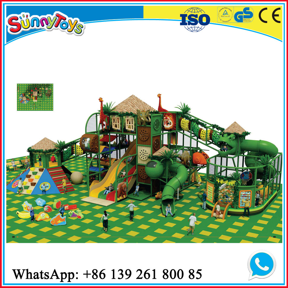 Kids used indoor playground equipment for sale buy used for Indoor play structure prices