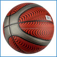 2015 New Design PU Laminated Basketball Match Ball