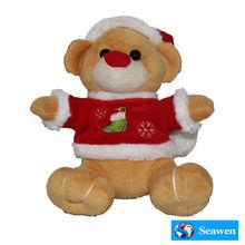 Cheap Christmas Bear Custom Plush Toys