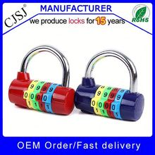 [Lock factory] produce directly sell Colorful 4 digits gym code security lock