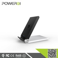 Powerqi hot selling wireless charger transmitter 3 coils folding charger case for LG nexus4,nexus5,nexus6