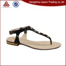 Nuevo tipo precio venta al por mayor sandalias de tiras