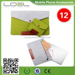 Wool Felt Liner Sleeve Computer Bag 11 12 13 15 inch Laptop Bag Waterproof Case for macbook air B022471(9)
