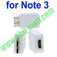 Micro USB V3.0 Adapter for Galaxy Note III 3 (White)