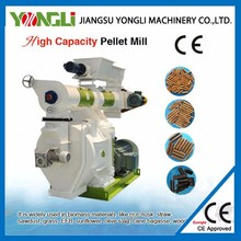 CE approved 1.5-2t/h machine to make wood balls