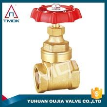 full port forge brass gate valve manufacturer with CE certificate china supplier pn16 rsing stem gate valve