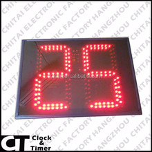 Lots of Occasion to Use Waterproof 2 Digits 8 Inch LED Display Red Digital Countdown Timer