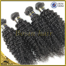 New Arrival The Hottest Excellent Curly Wave hair virgin brazilian hair 3 bundles