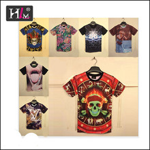 2015 Hotsale stock lots screen print t-shirt specials for man