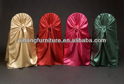 satin universal polyester banquet damask jacquard plain dyed cheap wholesale wedding chair cover