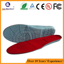 Battery heating snow boots insoles shoe insoles winter ski boots heated insoles for snow boots