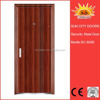 Modern entry steel security outside doors SC-S009