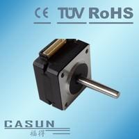 2015 Hot Sale 2 phase nema 14,35mm frame size 2 phase motor 12v,0.35a motor