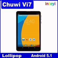 7 inch Chuwi Vi7 3G Phone Call Tablet 1+8GB Android 5.1 Lollipop Intel SoFIA Atom 3G-R Quad Core IPS Screen GPS FM