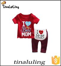 Kids Sleepwears Suits Cartoon Children's Sleeve Clothing sets girl Printing Pajamas Baby Writing Pijamas100%cotton
