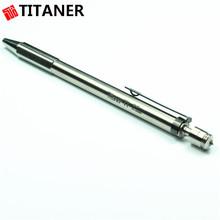 Factory Wholesale Office Outdoor Ultra Light Metal Nice Ballpoint Pens Titanium Ballpoint Pen
