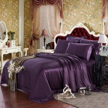 Top quality wholesale 22mm charmeuse silk bed sheets