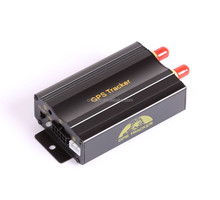 car gps tracker with SIRF4 gps chip SMS tracking on cellphone with google maps link gps tracker tk103a tk103b