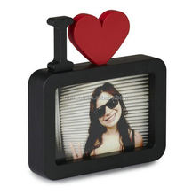 handmade all of kind of photo collage frame of heart laminated photo frame design
