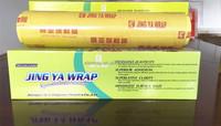 pvc casting plastic wrap/food grade good transparency transparent film