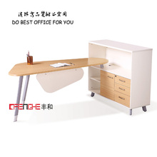 Foshan factory prices most beautiful wooden office furniture desk