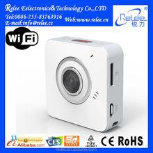 2015 new!! portable sport video wifi wireless webcam mini ip wifi camera