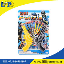 Newest soft shooting bullet gun police set toy for kid