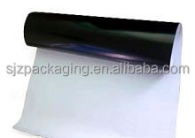 PE black & white protective film for furniture