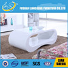 Special design wood table top led coffee table (CT004)