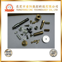 cnc machined metal screws/small metal screws